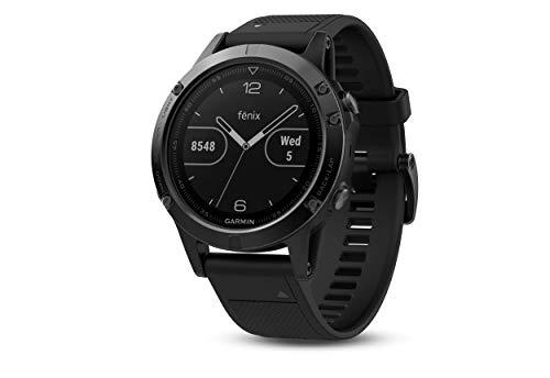 Garmin fēnix 5 GPS-Multisport-Smartwatch, Herren, Herzfrequenzmessung am Handgelenk,...