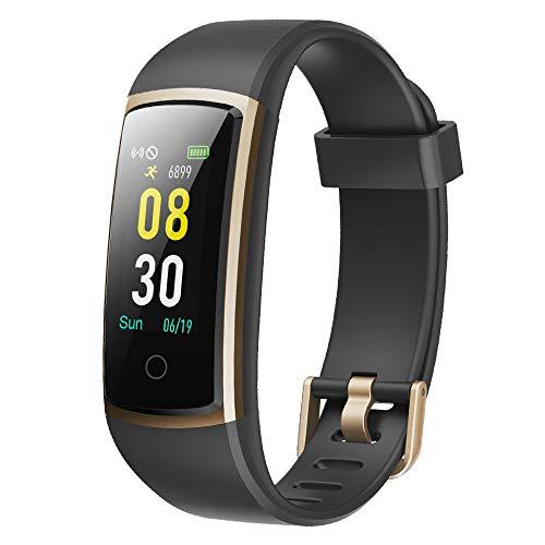 YAMAY Fitness Armband mit Blutdruckmessung,Smartwatch Fitness Tracker mit Pulsmesser...