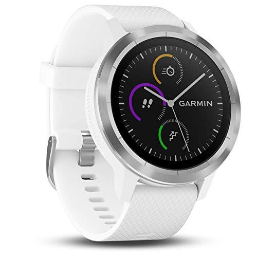 Garmin vívoactive 3 GPS-Fitness-Smartwatch - vorinstallierte Sport-Apps,...