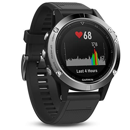 Garmin fēnix 5 GPS-Sportuhr – umfangreiche Multisport- & Navigationsfunktionen,...