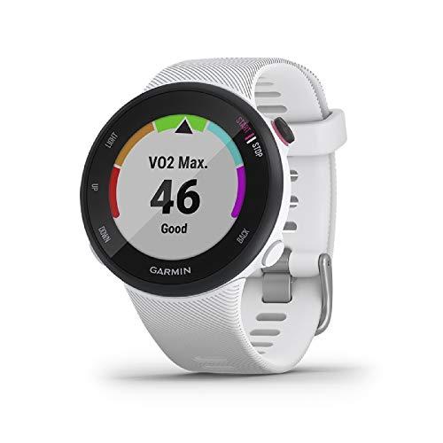 Garmin Forerunner 45S – GPS-Laufuhr im schlanken Design mit umfangreichen...