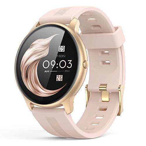 Smartwatch, AGPTEK 1,3 Zoll Armbanduhr mit personalisiertem Bildschirm,...