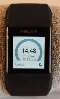 Polar M600 Pulsuhr Polar Pulsuhren M600 Smartwatch Sportuhr Fitnessuhr Sportuhren Pulsmesser