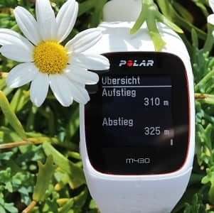 Polar M430 Test GPS Pulsuhr ohne Brustgurt