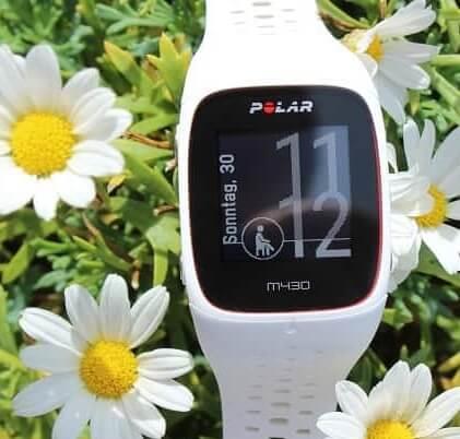Polar M430 GPS-Laufuhr Pulsuhr Test ohne Brustgurt Akkulaufzeit schwimmen