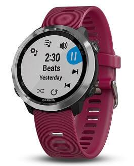 Garmin Forerunner 645 Musik, Pulsuhr ohne Brustgurt, Smartwatch
