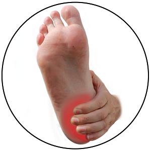 Schmerzen in der Fußsohle nach dem Aufstehen